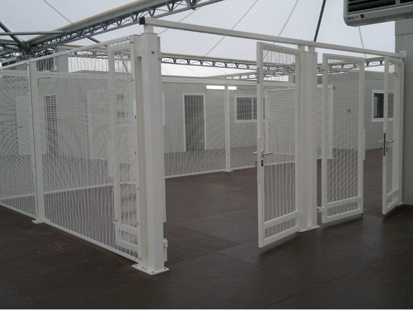 Security Fence SECURIFOR® FLAT by BETAFENCE ITALIA