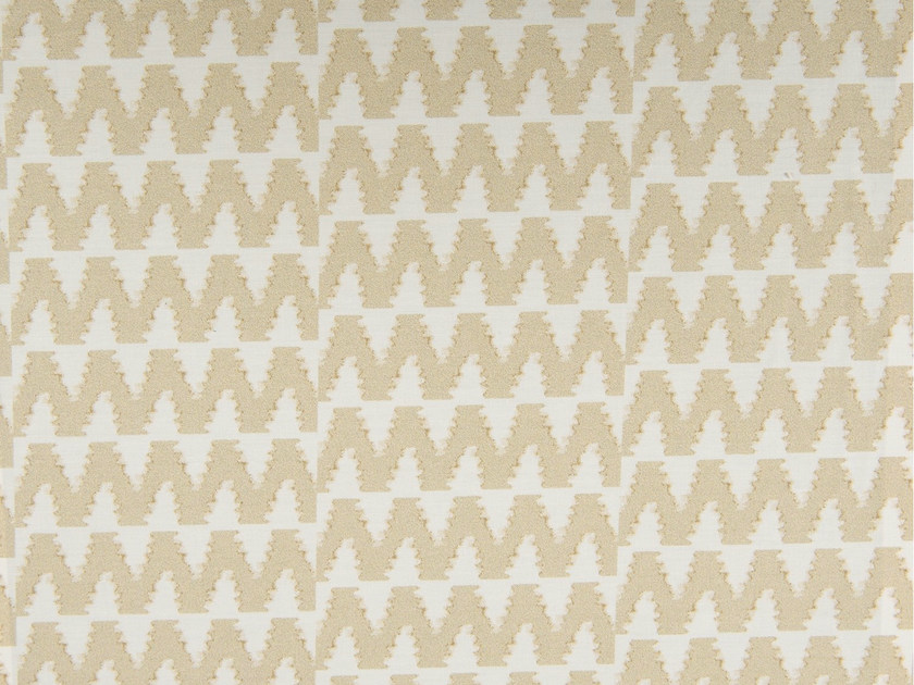 Cotton fabric with graphic pattern BURBANK - KOHRO