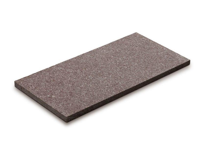 Porphyry outdoor floor tiles PORFIDO MARRONE by GRANULATI ZANDOBBIO