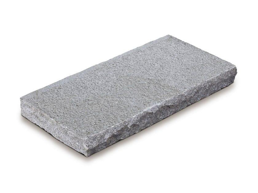 Marble outdoor floor tiles GRANITO BIANCO TRANCIATO - GRANULATI ZANDOBBIO