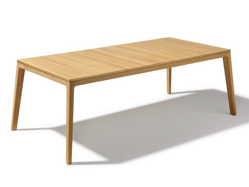 Extending wooden table MYLON | Extending table by TEAM 7