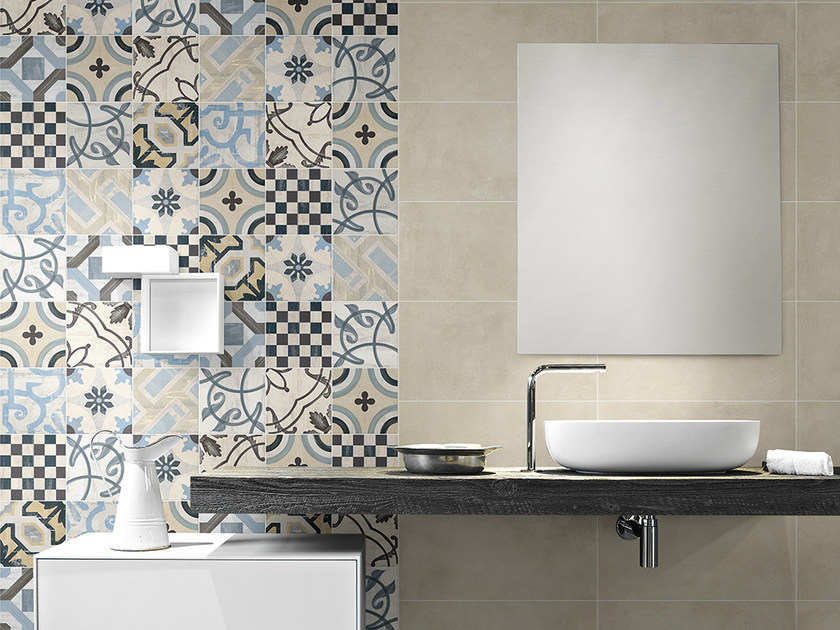 Porcelain stoneware wall tiles CEMENTINE 20 | Wall tiles by Ceramica Fioranese