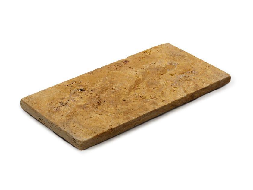 Travertine outdoor floor tiles TRAVERTINO GIALLO - GRANULATI ZANDOBBIO