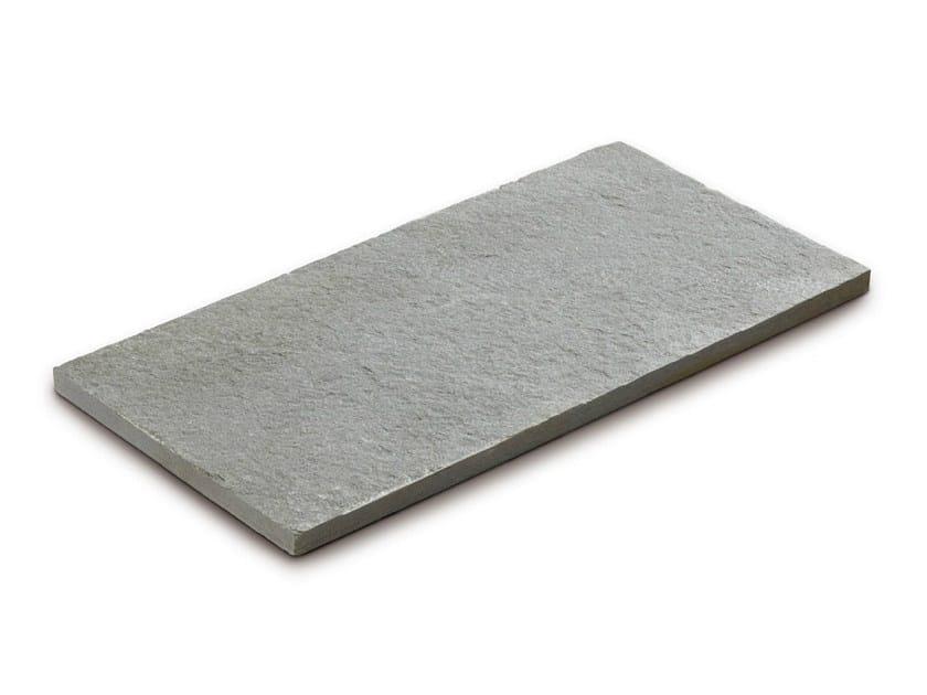 Quartzite outdoor floor tiles QUARZITE ORIENTALE GRIGIA - GRANULATI ZANDOBBIO