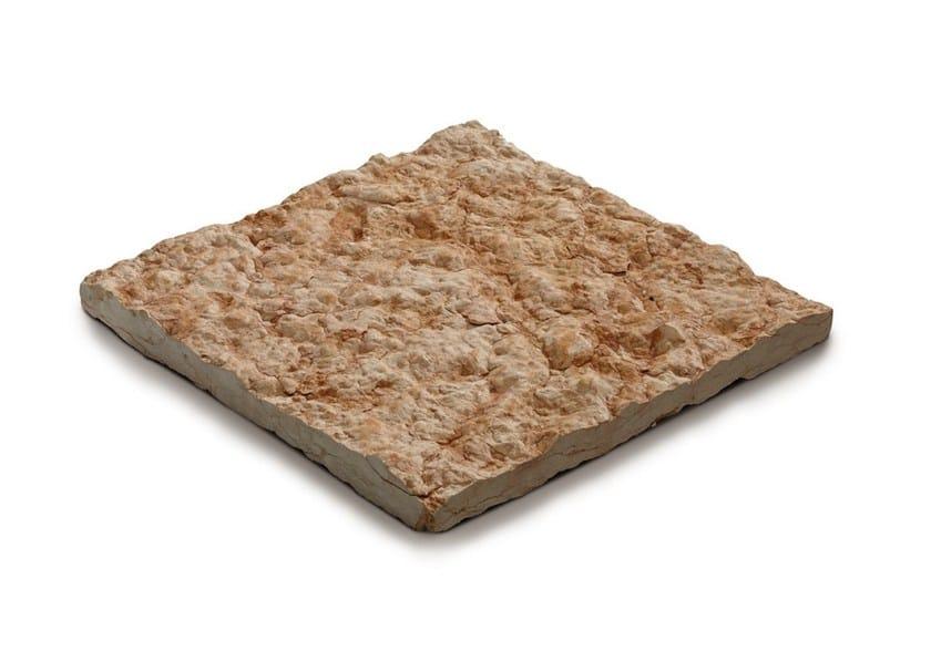 Calcareous stone outdoor floor tiles LESSINIA - GRANULATI ZANDOBBIO