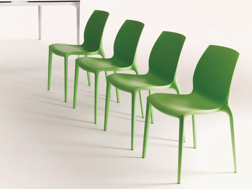 Stackable chair HIDRA | Polypropylene chair - Bontempi Casa