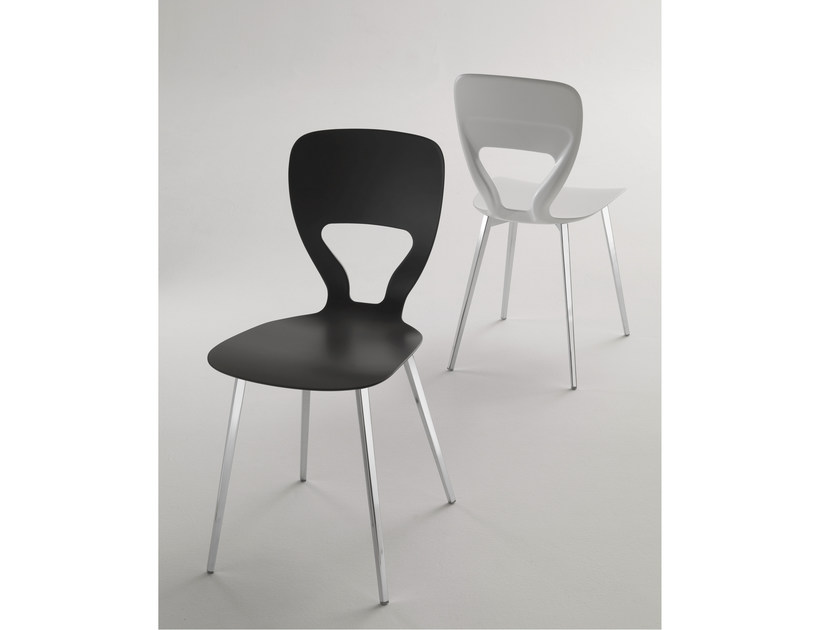 Polyurethane chair SCREAM - Bontempi Casa