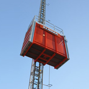 Construction hoist ALIMAK SCANDO 650 - ALIMAK HEK