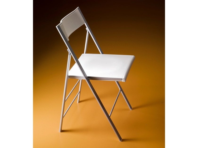 Folding polypropylene chair POKET - Bontempi Casa