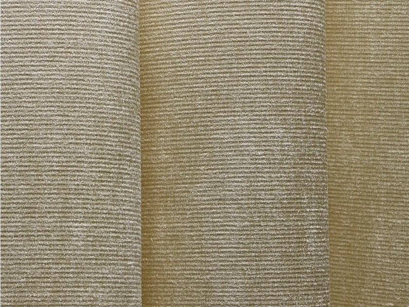 Solid-color fabric for curtains SHIMMER by Dedar