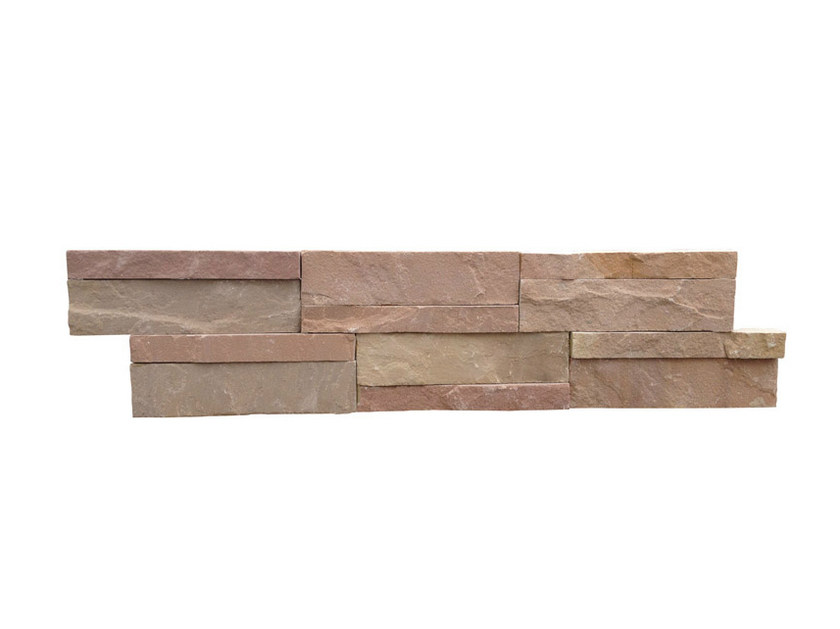 Outdoor natural stone wall tiles GOLDEN LEAF | Wall tiles - GRANULATI ZANDOBBIO