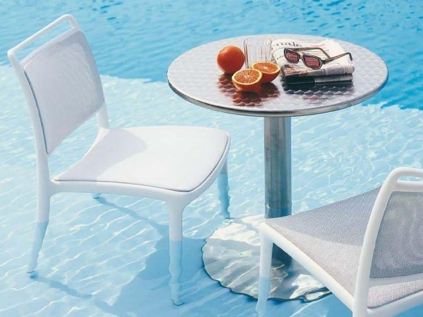 Stackable mesh chair YANG - Bontempi Casa