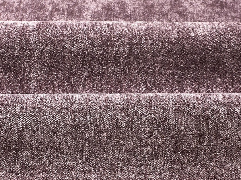 Solid-color chenille fabric BELSUEDE by Dedar