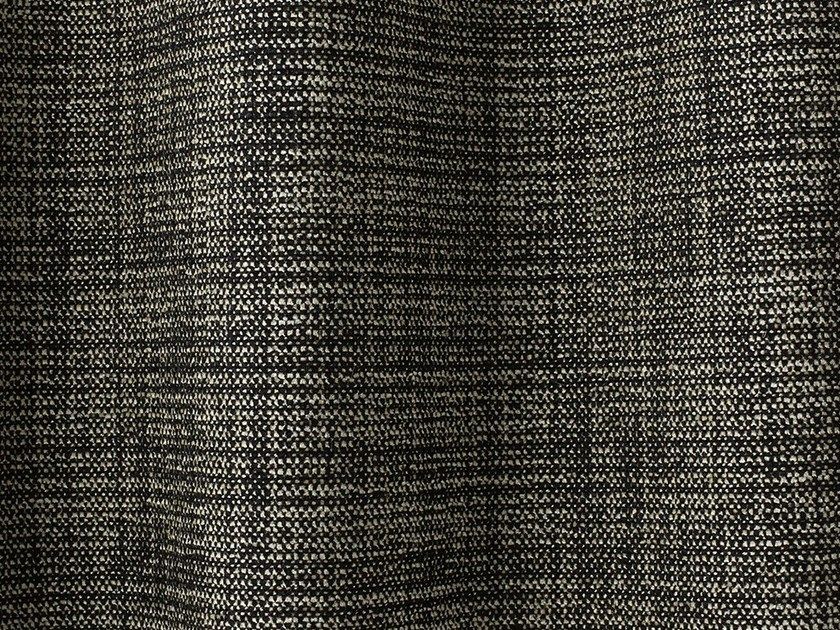 Solid-color chenille upholstery fabric GRISAILLE by Dedar