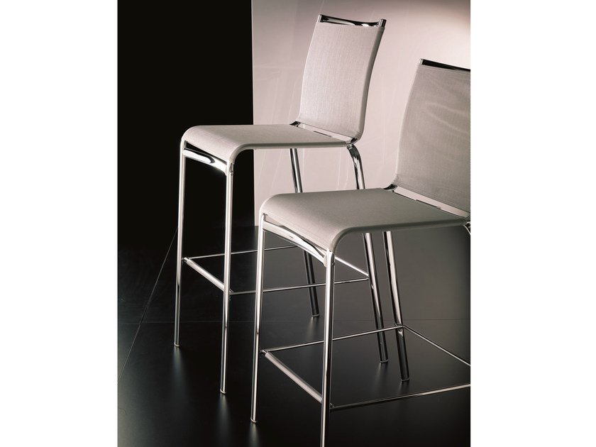 Texplast counter stool with footrest NET - Bontempi Casa