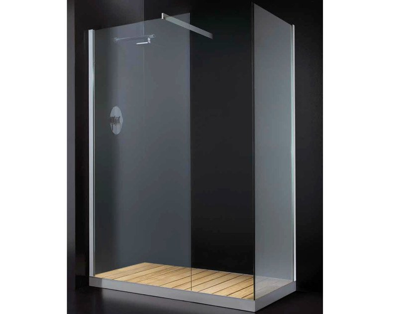 Crystal shower wall panel ELITE F07 by RARE
