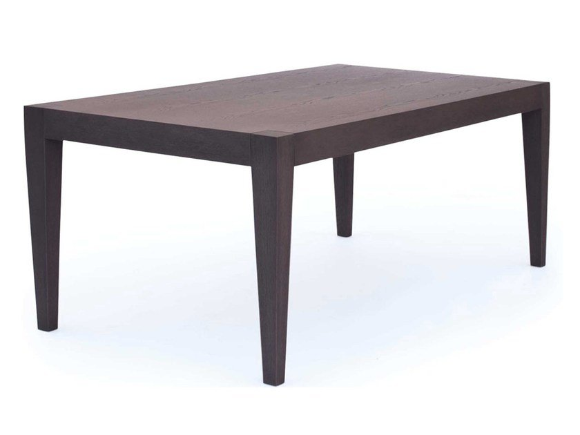Wood veneer dining table ARTE - AZEA