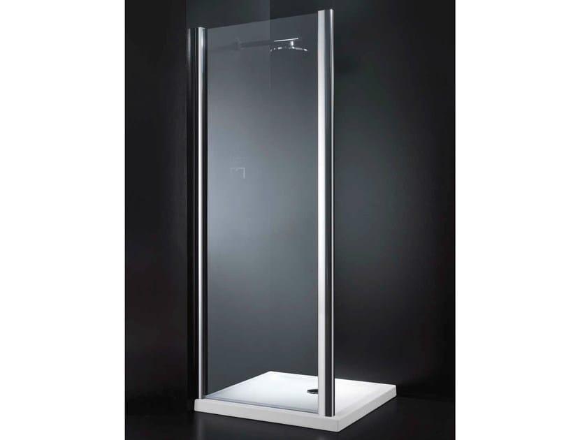 Crystal shower wall panel GLASS F01 - RARE