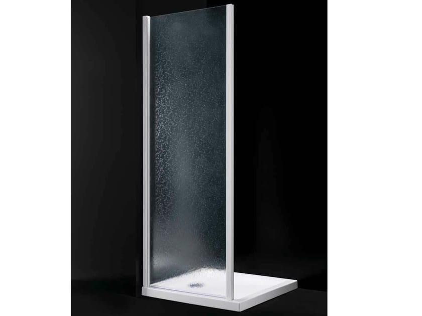 Acrylic glass shower wall panel AMERICA F01 - RARE