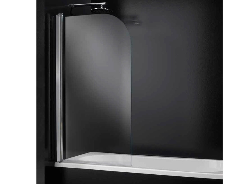 Parete per vasca pieghevole in vetro segno d04 by rare - Vasca da bagno in vetro ...