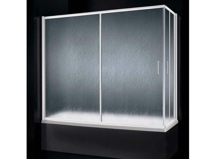 Methacrylate bathtub wall panel AMERICA D03 by RARE