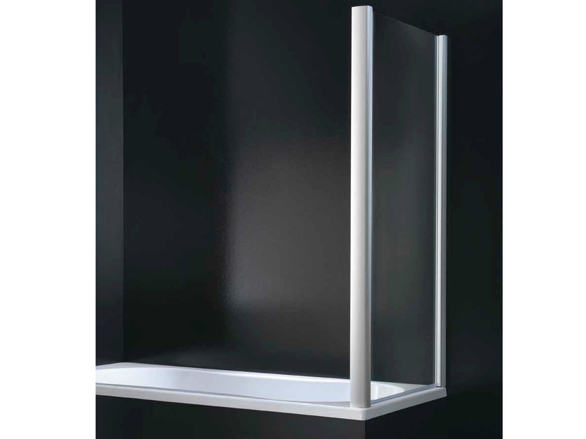 Glass bathtub wall panel GLASS F02 - RARE