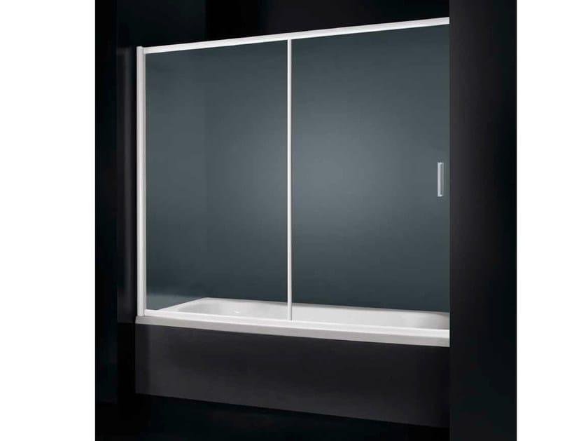 Glass bathtub wall panel GLASS D07 by RARE