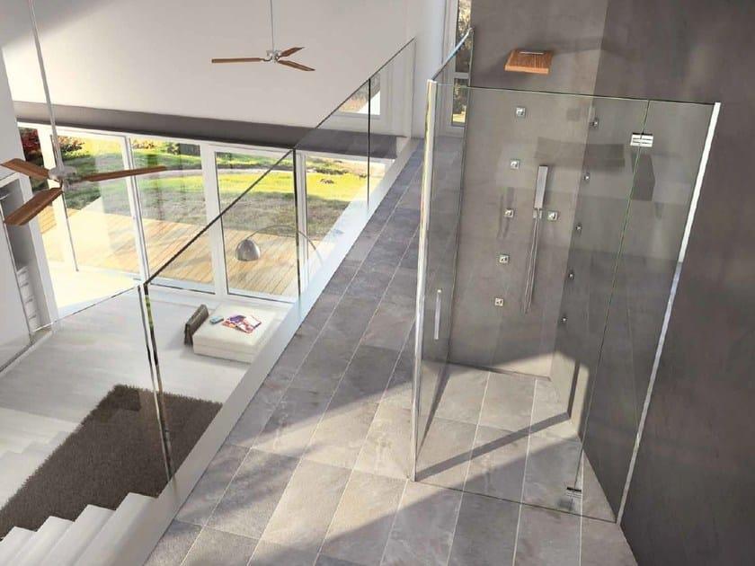 bodengleiche duschwanne ad hoc by rare. Black Bedroom Furniture Sets. Home Design Ideas