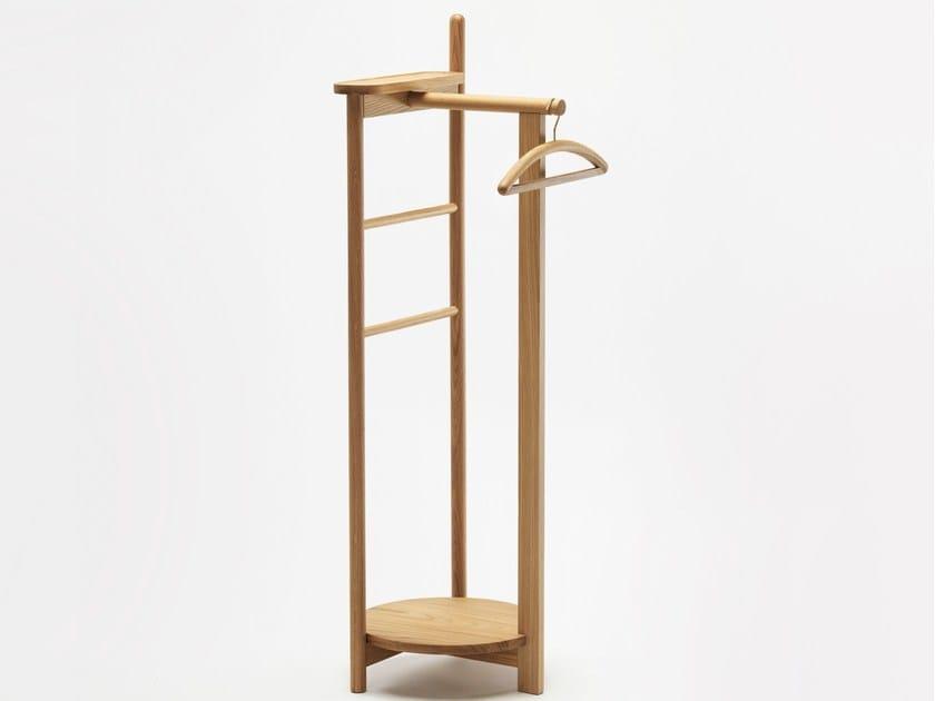 Oak coat rack LAUREL - Zilio Aldo & C.
