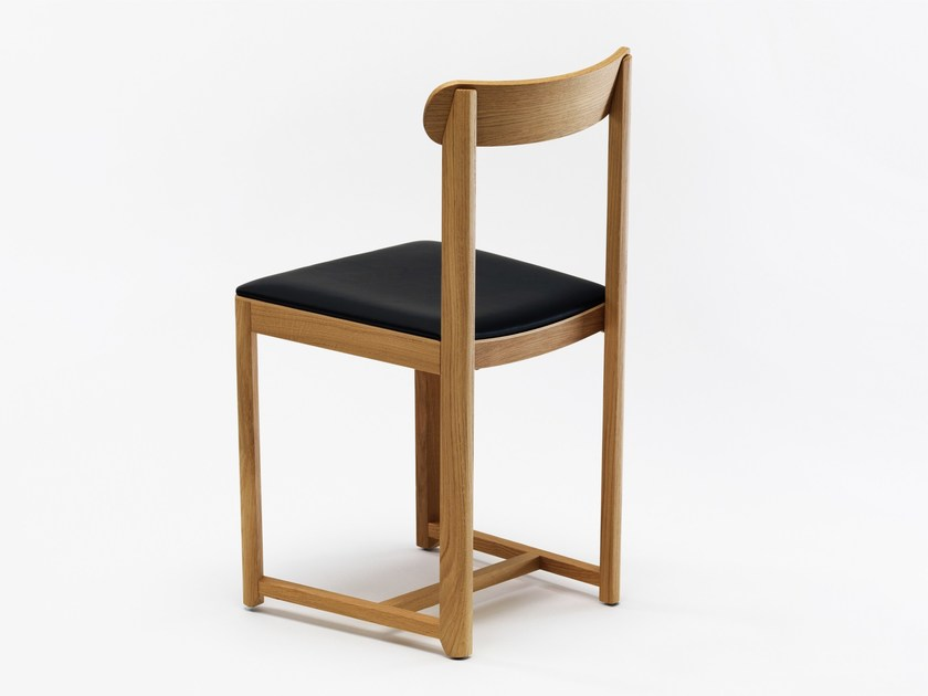 Upholstered wooden chair SELERI | Upholstered chair - Zilio Aldo & C.