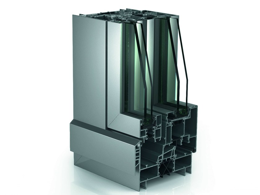 Coupled window WICLINE 125 | Coupled window - WICONA
