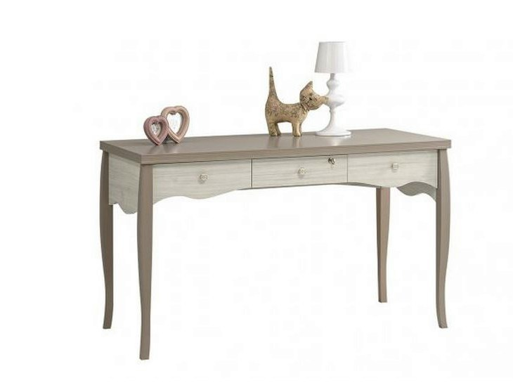 Wooden kids writing desk with drawers DEMOISELLE | Writing desk by GAUTIER FRANCE