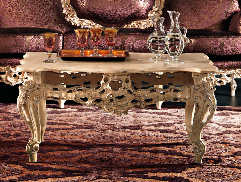 Tailormade sitting room coffee table - Villa Venezia Collection - Modenese Gastone