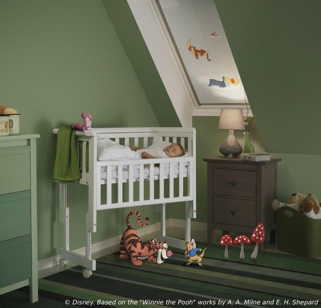 Tenda per finestre da tetto oscurante in tessuto winnie the pooh 1 velux - Tende per finestre da tetto ...