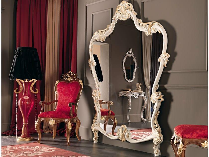 Wall-mounted framed mirror 11624 | Mirror by Modenese Gastone