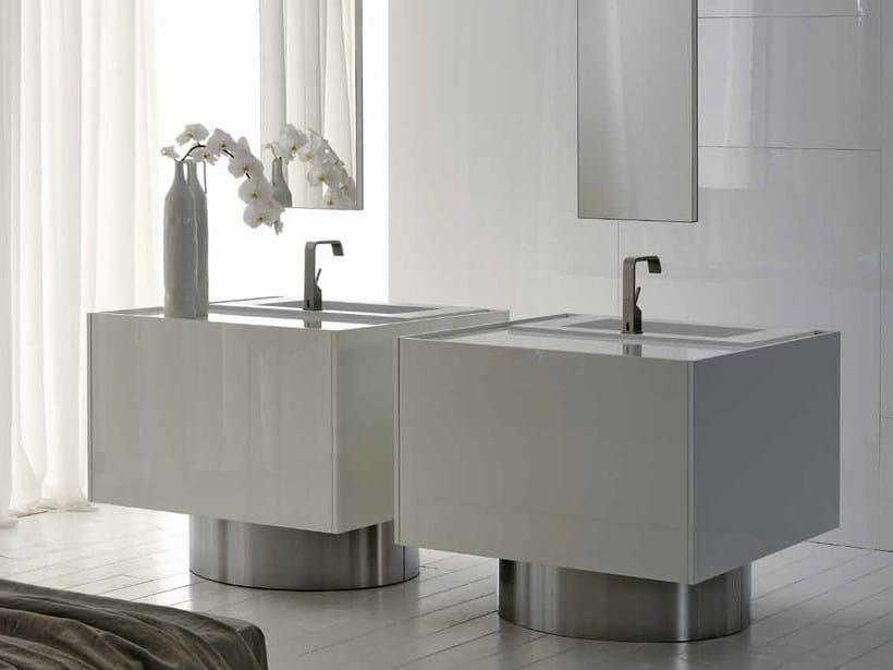 Lacquered vanity unit LESS | Vanity unit - RIFRA