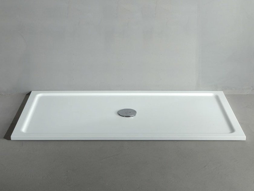 Extra flat Corian® shower tray LINE 24 - RIFRA