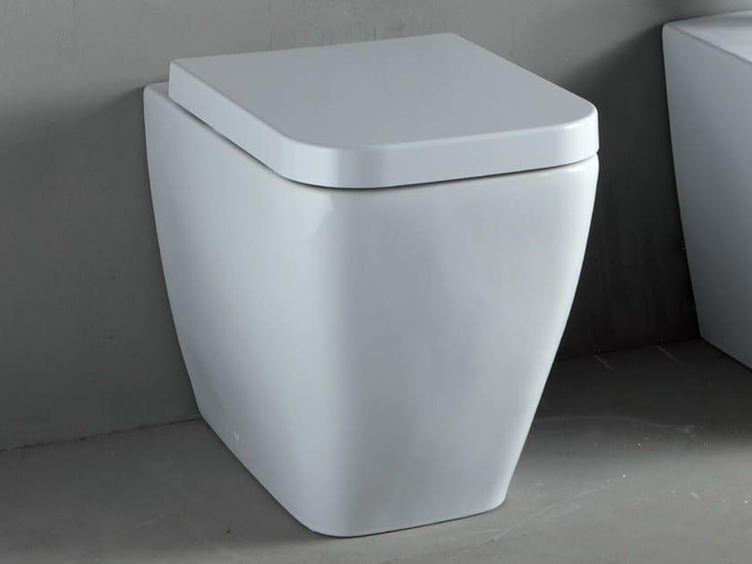 White-paste toilet THIN | Toilet - RIFRA