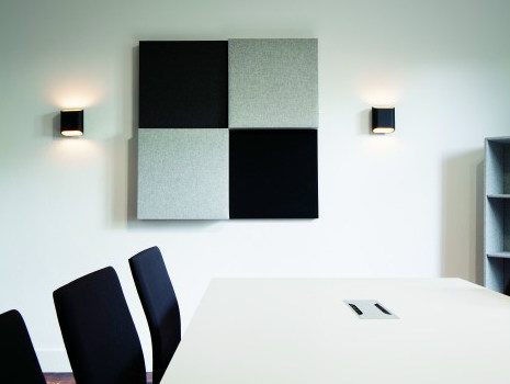 Fabric decorative acoustical panels BUZZIBLOX - BuzziSpace