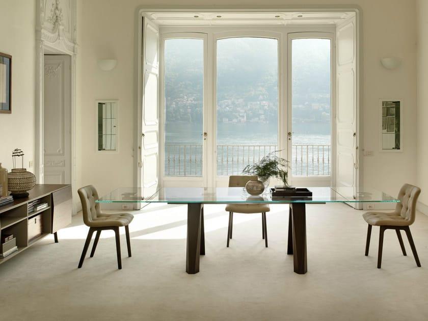 Extending rectangular table ARON - Bontempi Casa