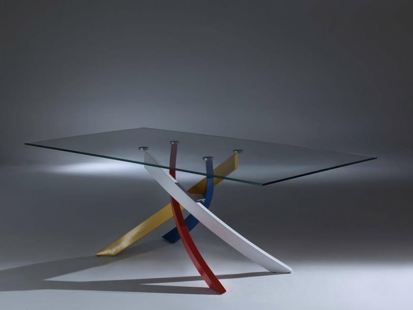 Tavolo allungabile rettangolare ARTISTICO   Tavolo in legno e ...