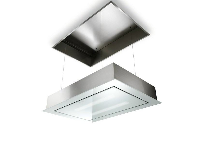 Built-in glass and steel cooker hood SKYLIFT - FABER