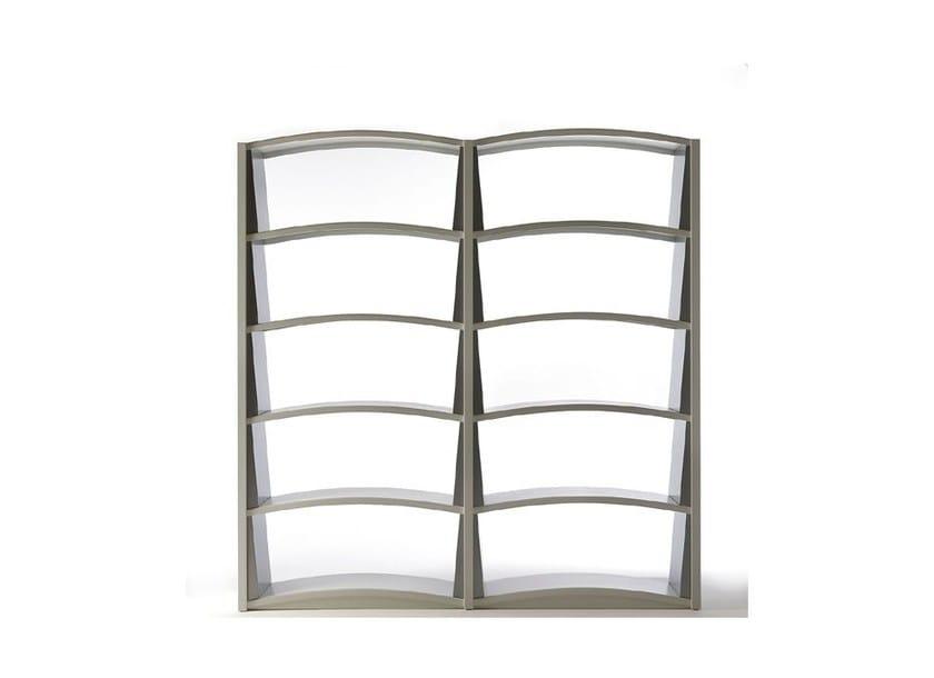 Open freestanding bookcase CHIAVE DI VOLTA - Dieffebi