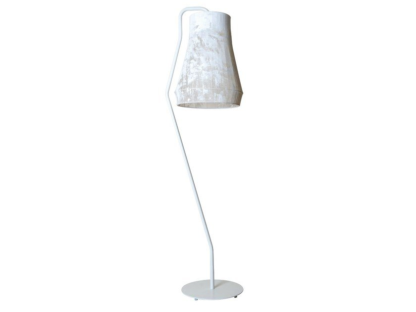 Fabric floor lamp ATELIER | Floor lamp - Karman