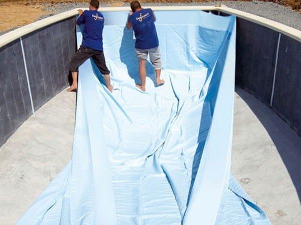 Rivestimento piscine a tenuta stagna desjoyaux liner - Piscine inox sans liner ...