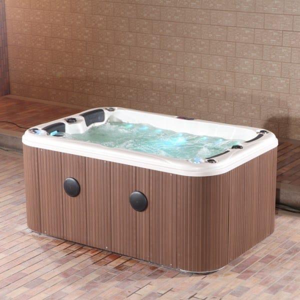 Above ground hot tub 4 seats positano luxe mini pool for Pool familia nuovo de luxe