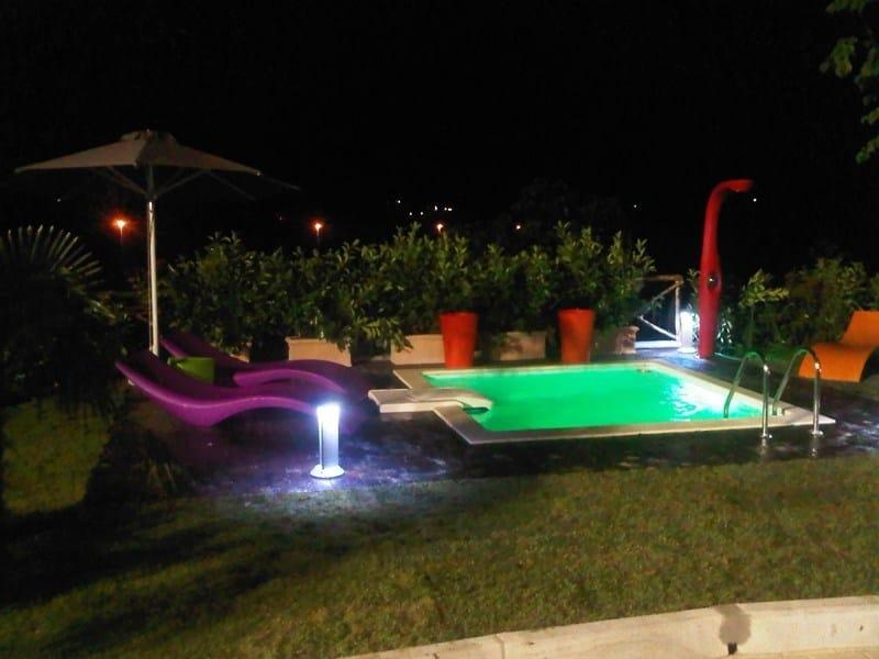 In-Ground Swimming pool DESJOYAUX | Square Swimming Pool - Desjoyaux Piscine Italia