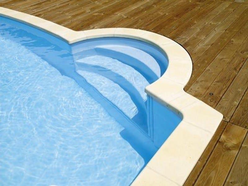 Swimming pool stairs DESJOYAUX R176 - Desjoyaux Piscine Italia