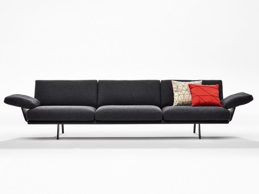 Modular sofa ZINTA LOUNGE by arper