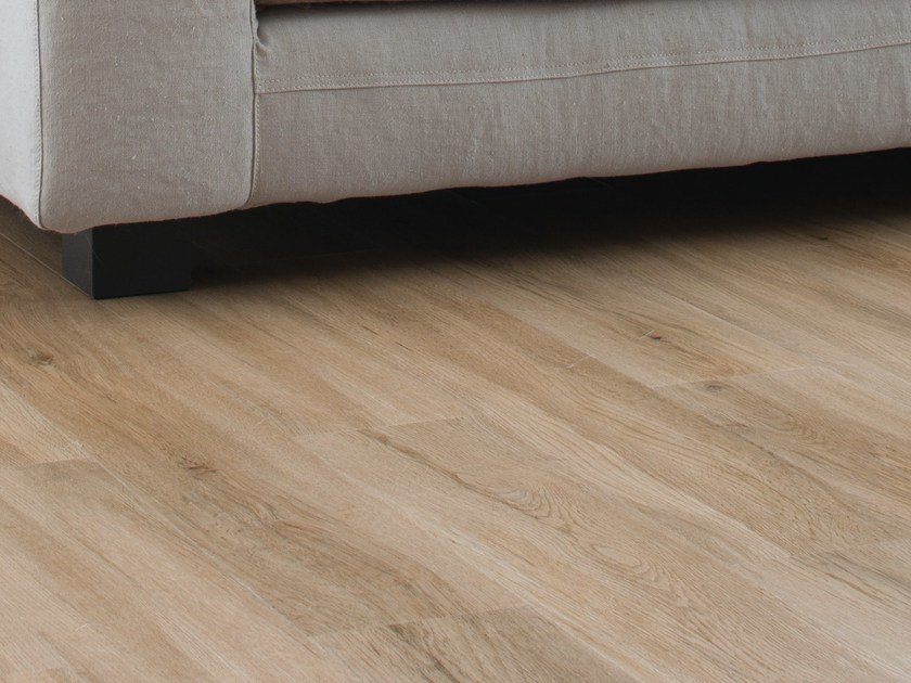 Synthetic material floor tiles with wood effect SENSO NATURAL 6' by gerflor